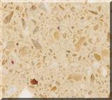 Golden Beige artificial marble slab and countertop