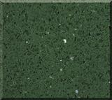 Green Sparkle Quartz Surface