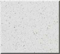 White Crystal Spot Quartz Stone Countertop