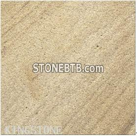 China Yellow Wooden Sandstone tiles