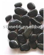 Cobble Pebble Black Natural River