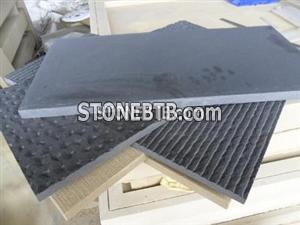 Black Sandstone honed tiles