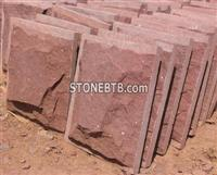 Red Sandstone Mushroomed