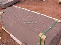 Purple sandstone tile