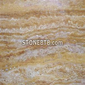 Travertine royal gold