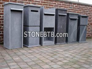China Blue Limestone Letterbox