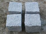 Gray Granite Cubes with Natural Sides