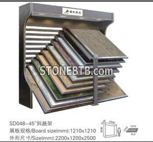 Marble Rack Ceramic Rack Stone Display Rack Display Rack Exhibition Rack