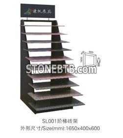 Stone Stands, Exhibition Stands, Showing Stands, Stair Slab Rack