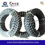 Rubber Diamond Wire Saw For Granite Quarry