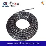 Marble Quarry Diamond Wire Spring Wire Saw , Rubber Wire Saw