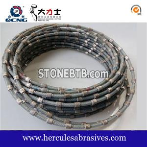 High Strength Plastic Multi-Wire Diamond Wire Saw for Granite Slab Cutting