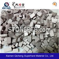 Diamond segment for granite saw blade