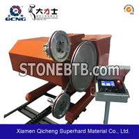 Quarry wire saw machine