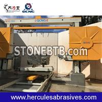 Cnc wire saw machine for stone factory