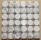 white marble mosaic special type