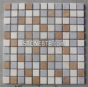 blue marble mosaic special type