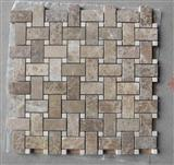 natural stone mosaic coffee color