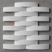 bianco marble mosaic, special type  mosaic slab