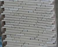 beige marble mosaic tile, white marble and light emperador marble