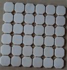 marble mosaic tile, mosaic pattern, white color