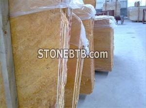 Yellow Travertine Slab