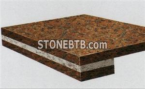 Red Color Countertop