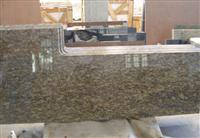 Yellow Nature Granite Countertop