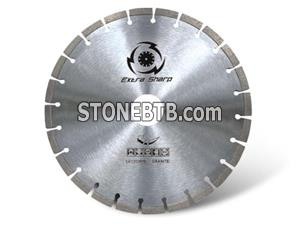 High frequency welding granite blades