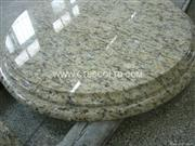 Giallo St. Cecilia granite tabletops