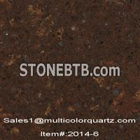 artificial quartz stone with multicolors for kitchen countertops