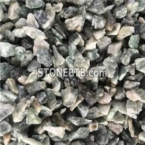 Black Yellow Mixed Color Crushed Stone Chippings