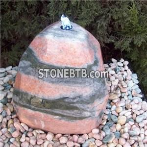 Garden Stone Ball Fountains