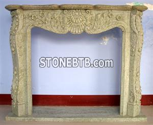 Sandstone Fire Place 1500x1100x350mm