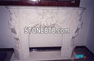 Carved Fireplace Surrounds
