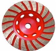 Wide-Turbo Theeth Cup Wheel(with steel core)
