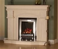 Column Fireplace