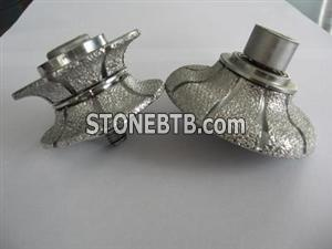 Brazed Diamond Router Bit For Granite