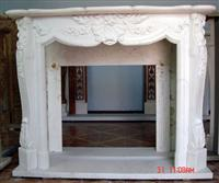 Indoor Fireplace Mantel