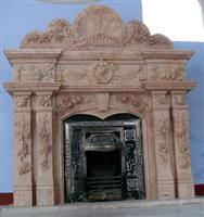 Carved Fire Place
