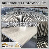 China Whtie Wood Marble Tiles