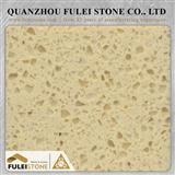 Crystal Beige Quartz Slab