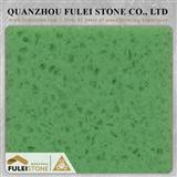 Crystal Green Quartz Slab