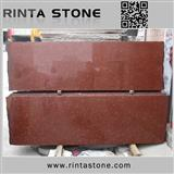 Phoneix dyed red granite