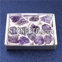 Natural Amethyst Cluster With Reiki50