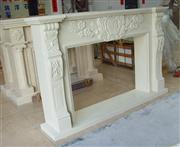 marble fireplace hearth