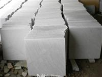 white sandstone cut to size tile