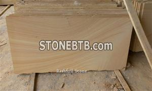yellow wooden sandstone tile