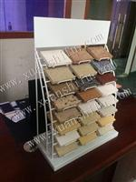 metal display holder for quartz tile sample