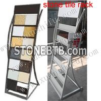 metal display rack for granite stone